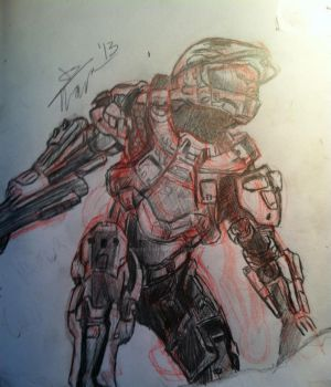HALO 4 by Spider-King