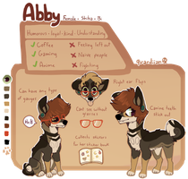 Abby by quardie
