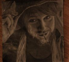 Danny Worsnop of Asking Alexandria by comeserenity