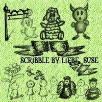 scribble brushes by liebeSuse