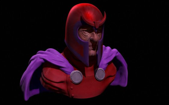 Magneto 1 by 3DNoobish