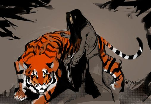 TigerLady by Mr--Jack