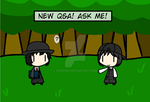 (walfas) New Q and A Ask me by Godeung