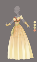 :: Commission April 03: Outfit Design :: by VioletKy