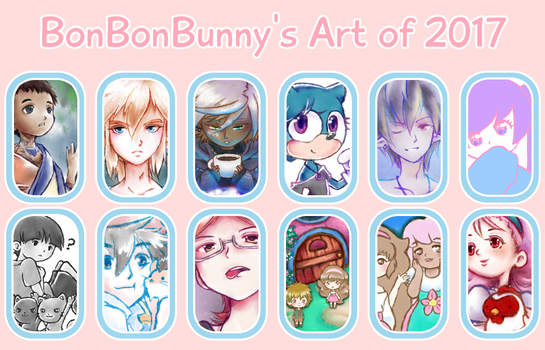 2017 Art Summary by Bon-Bon-Bunny