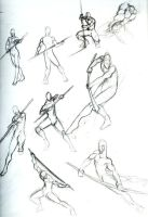 Male Action Poses 02-Staff by Chilord