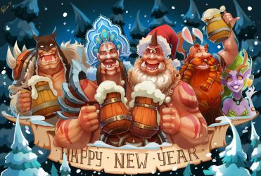 Happy new year! by Philiera