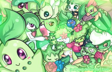 Green Party by DarienDoodles