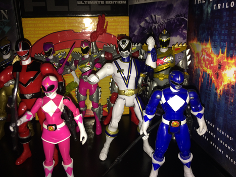 Power Rangers Toy Collection 017: Omega Ranger by AnutDraws