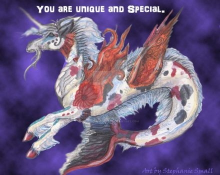 You are Unique and Special Valentine Meme by StephanieSmall