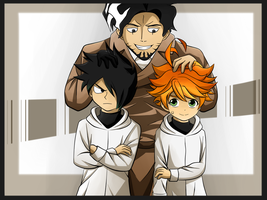 The promised neverland by Estermi