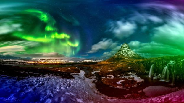Northern lights by Huntertje