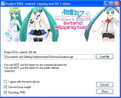 Project Diva Ripping tool by Hanaminasho