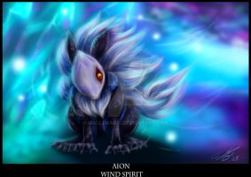 Aion - Wind Spirit by Mallemagic