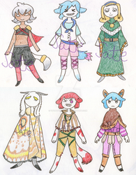 Super cheap rpg adopts Open by StopAtTheEdge