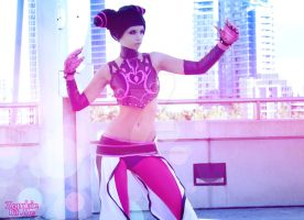 Juri Han 4 by ZombaeCosplay