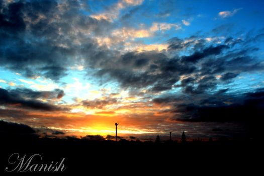 Beautiful Sunset by VisionThroughTheLENS