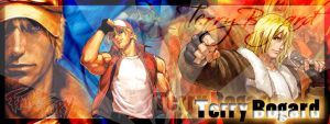 Sign - Terry Bogard by lcdesigner