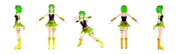 Cyber Carrot- I MEAN GUMI! Download by HallloweenKatt