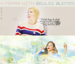 MY PAGE (4 years with Seulgi Quotes) by CeByun688