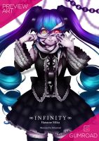 [Fan Art] MIKU39 POSTER: Infinity by Hikarisoul2