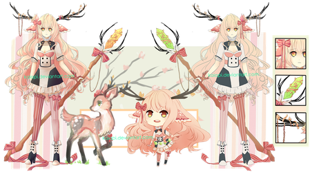 Spring Doe Adopt Auction [CLOSED] by Kaiapi