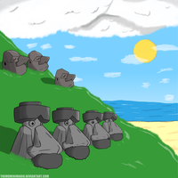 Easter Island - Pokemon version