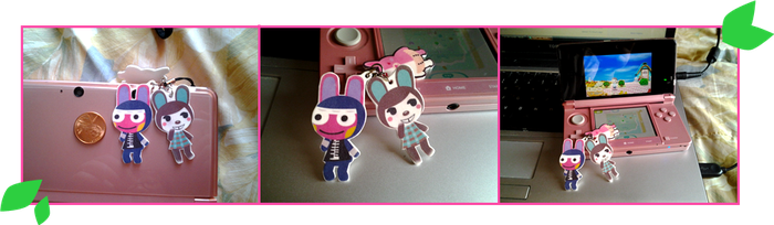ACNL Carmen and Snake Charms by Panchann