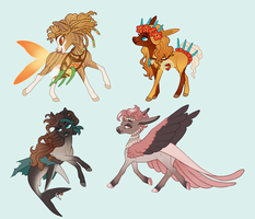 Chibi Adopts | Talori Faction by queerly