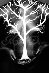 Tree and Body by mad-dame