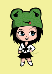 The frog cap by Dreaming-Demon