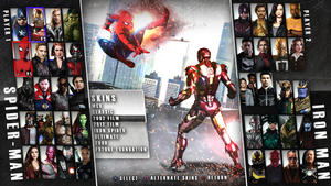 MCU Fighter Concept - Character Select by TheKosmicKollector
