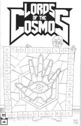 Lords of the Cosmos 2 Sketch Cover - Quilt Variant by Jason-Lenox