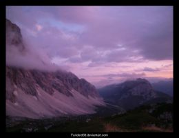 Pink mountain by Fundor333