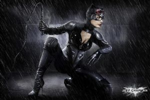 Catwoman Commission by Jeffach