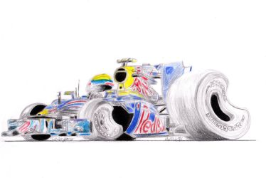 Red Bull Formula 1 Toon by theTobs