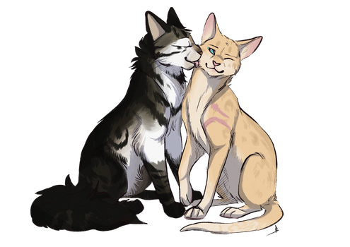 Commission   Sorrel and Fennel by OwlCoat