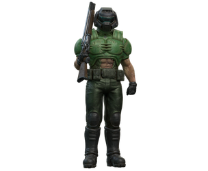 DOOM Guy with SSG by TheDOOMMan