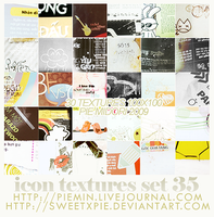 Icon Textures set 35 by sweetxpie