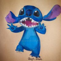 Disney Infinity Stitch  by samgwen111