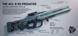 ACL-R 55 Predator Accelerator Rifle by Duskie-06