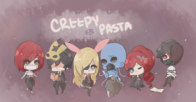 Creepypasta Narrators by Mimi-up