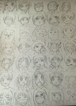 100 Characters Part 2! by YuukiCross5