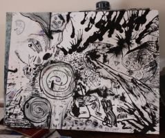 Vortex - Black and White by coltonphillips