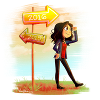 A new path called 2016 by Elena114