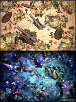 Under The Sea Before After by kiayt