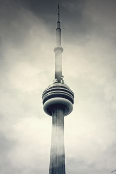 CN Tower by neon-lilith