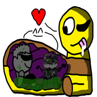 Undernom Ate Me And Steam Card by kingamegamegame12