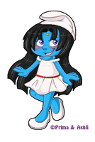 Cute Ashli Pixel Collab by Kiss-the-Iconist
