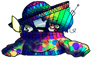 Sweaters And Sombreros/ Collab by afroclown